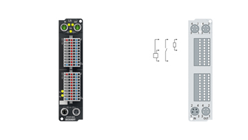 EP2339-0003 | EtherCAT Box, 16-channel digital combi, 24VDC, 3ms, 0.5A, IP 20 connector