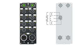 EP2339-0042 | 16-channel digital input or output 24 V DC