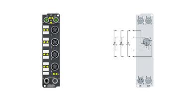 EP3204-0002 | 4-channel analog input Pt100 (RTD)