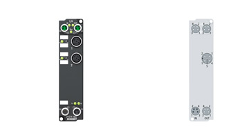 EP4314-1002 | 2-channel analog input + 2-channel analog output ±10/±20 mA, parameterizable, 16bit