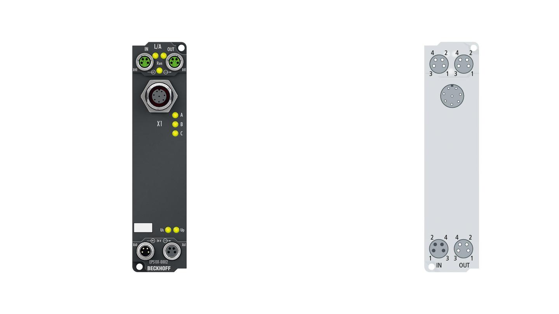 EP5101-0002 | Inkremental-Encoder-Interface mit Differenzeingängen