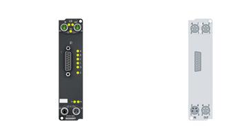 EP5101-2011 | EtherCAT Box, 1-channel encoder interface, incremental, 5VDC (DIFFRS422,TTL), 5MHz, D-sub