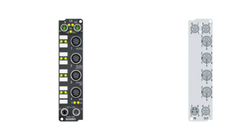 EP6001-0002 | 1-channel serial interface, RS232, RS422/RS485