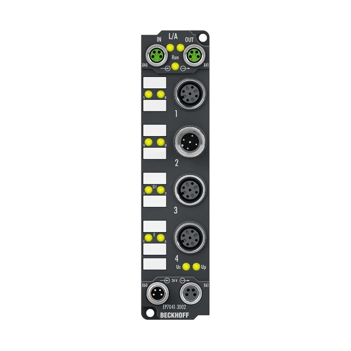 EP7041-3002 | Schrittmotormodul 48 V DC, 5 A, mit Inkremental-Encoder, für Highspeed-Anwendungen