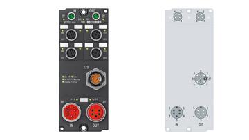 EP7211-0034 | Servomotormodul mit OCT und STO