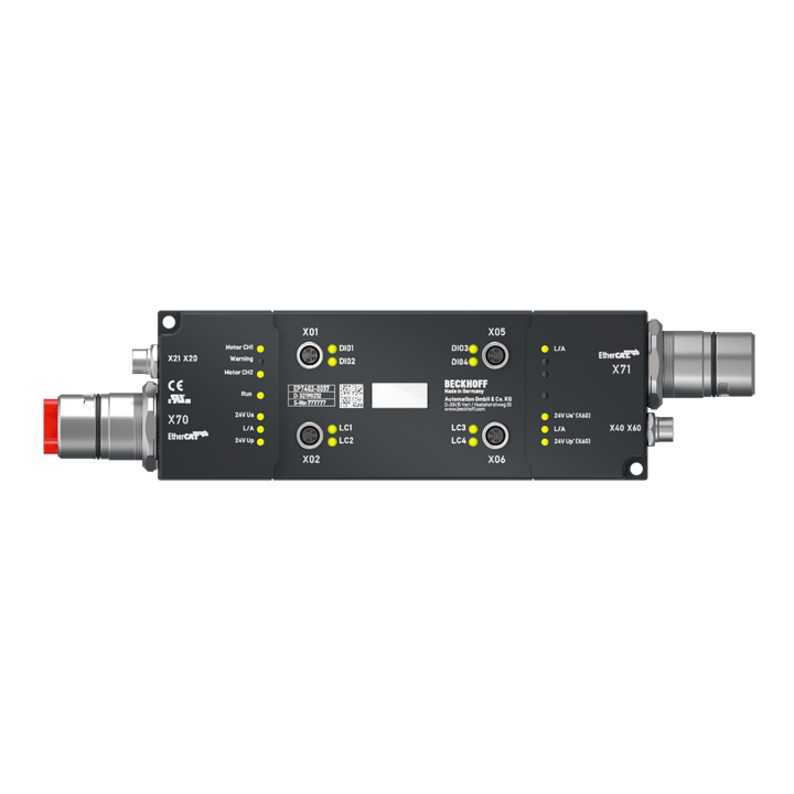 EP7402-0057 | 2-channel motor controller box for roller conveyor systems