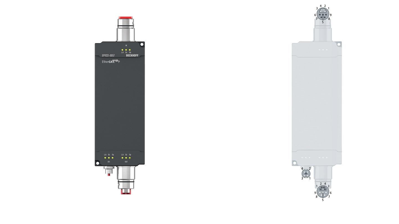 EP9221-0057 | 1-Kanal-Powerverteiler ENP auf EtherCATP