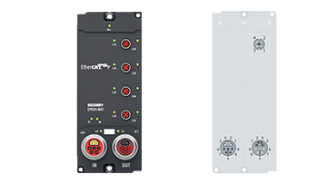 EP9224-0037 | EtherCAT Box, 4-channel power distribution, ENP to EtherCATP