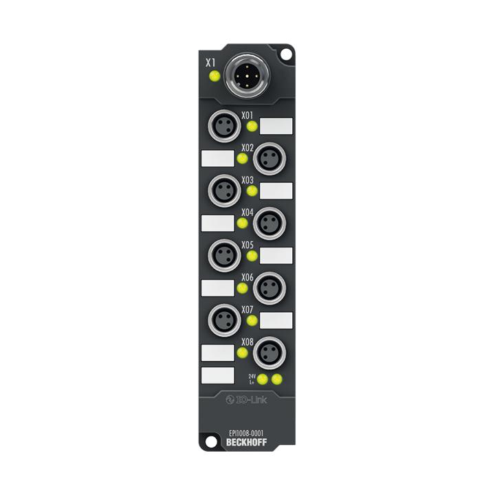 EPI1008-0001 | IO-Link box, 8-channel digital input, 24VDC, 3ms, M8