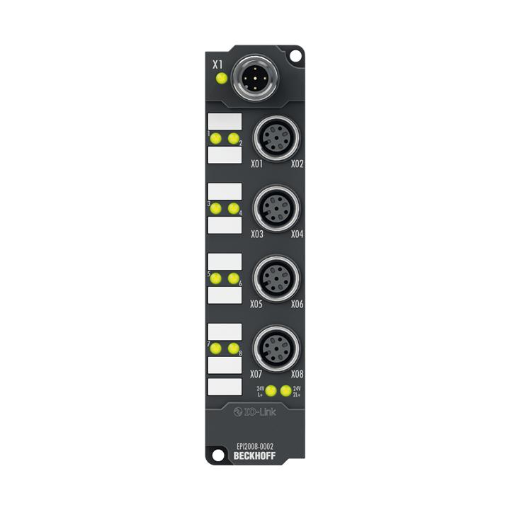 EPI2008-0002 | 8-channel digital output 24 V DC, Imax = 0.5 A (∑ 4 A)