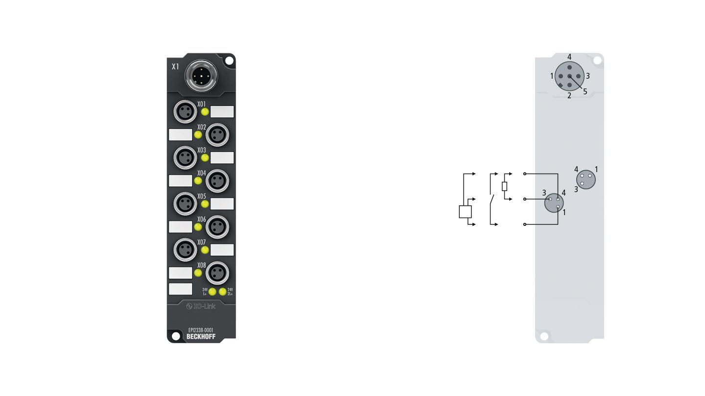 EPI2338-0001, M8, schraubbar