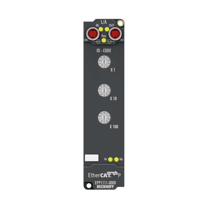 EPP1111-0000 | EtherCAT P Box, ID switch