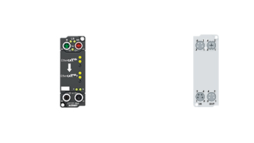 EPP1321-0060 | 1-channel EtherCAT to EtherCAT P supply module
