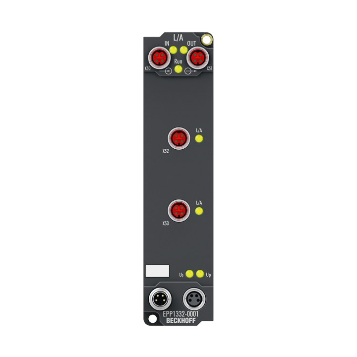 EPP1332-0001 | EtherCAT P junction with refresh
