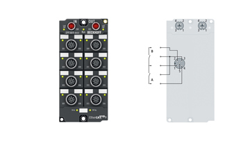 EPP1809-0022   16-channel digital input 24VDC, 3.0ms