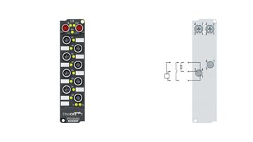 EPP2338-1001 | 8-channel digital input or output 24 V DC