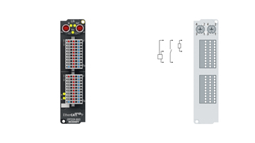 EPP2339-0003 | EtherCAT P Box, 16-channel digital combi, 24VDC, 3ms, 0.5A, IP 20 connector