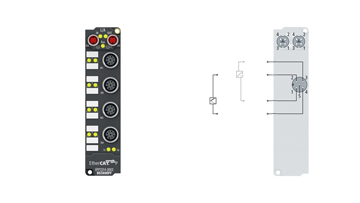 EPP3314-0002 | 4-Kanal-Analog-Eingang Thermoelement