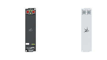 EPP3752-0000 | EtherCAT P Box, 2-channel, 2x3-axisaccelerometers