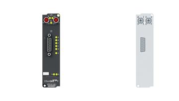 EPP5101-0011 | Inkremental-Encoder-Interface mit Differenzeingängen