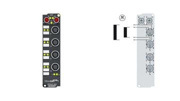 EPP7041-1002 | Schrittmotormodul 48 V DC, 1,5 A, mit Inkremental-Encoder