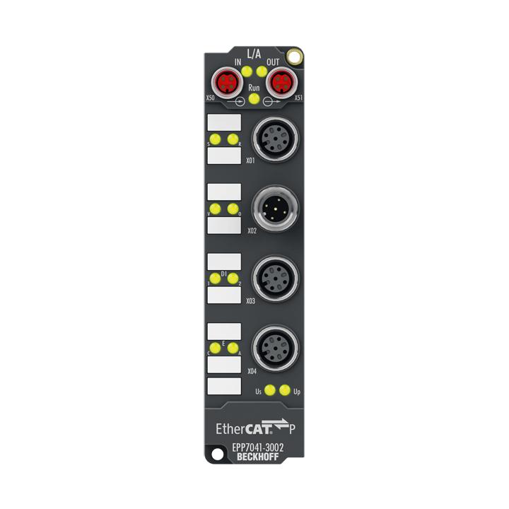 EPP7041-3002 | Schrittmotormodul 48 V DC, 5 A, mit Inkremental-Encoder, für Highspeed-Anwendungen