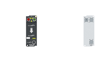 EPP9001-0060 | EtherCATP/EtherCAT connector with power transmission