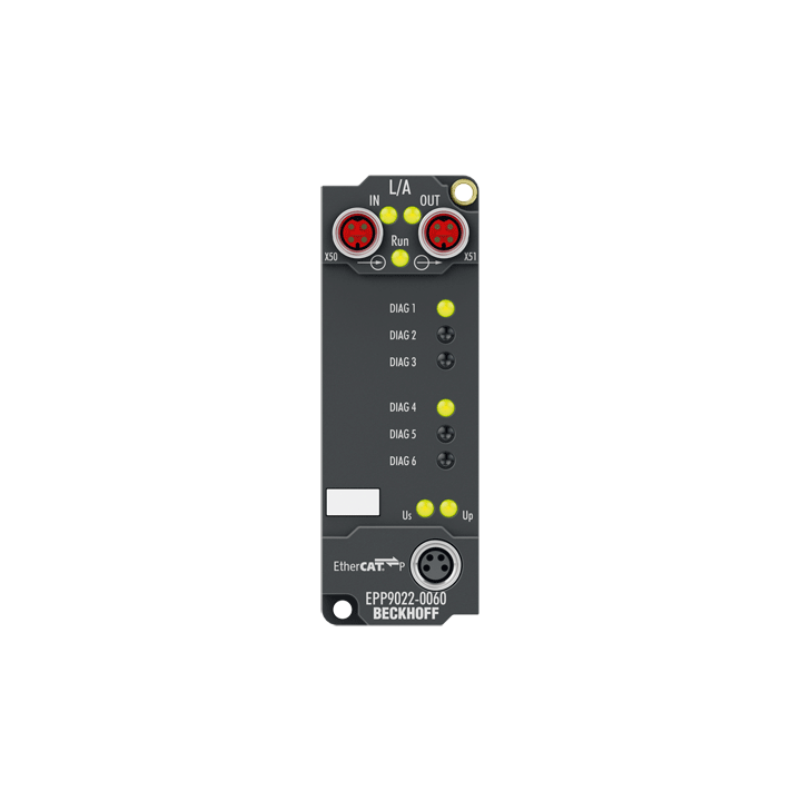 EPP9022-0060 | EtherCAT P Box with diagnostics