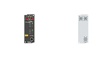 EPP9022-9060 | EtherCAT P Box, with voltage diagnostics, TwinSAFESC