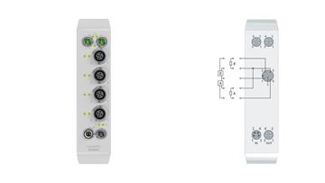 EQ2008-0002 | 8-channel digital output 24 V DC