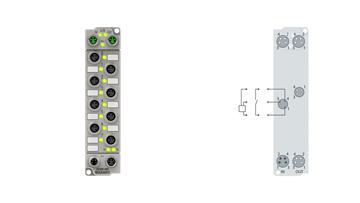 ER1008-0001 | 8-Kanal-Digital-Eingang 24 V DC, 3,0 ms