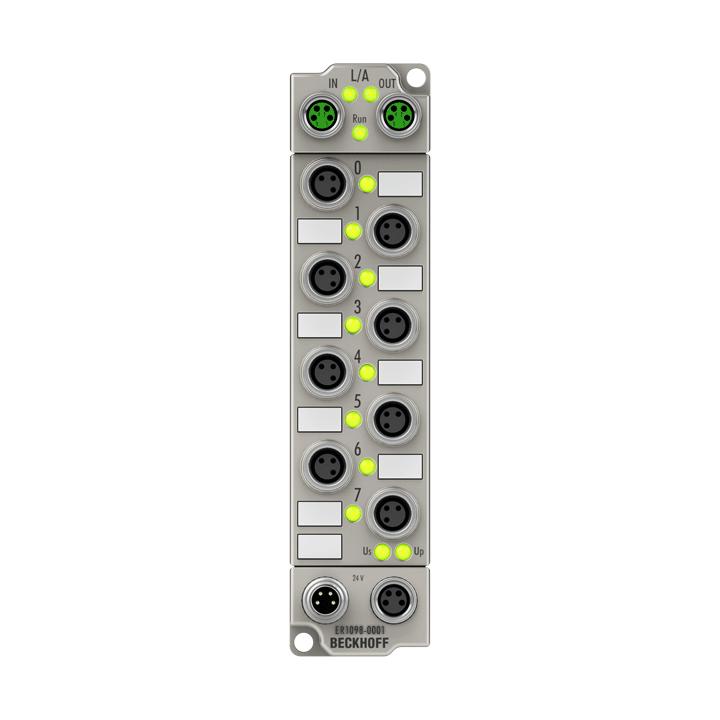 ER1098-0001 | 8-channel digital input 24 V DC, ground switching
