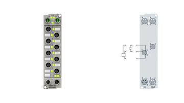 ER2028-0001 | 8-Kanal-Digital-Ausgang 24 V DC, Imax = 2A (∑ 4 A)