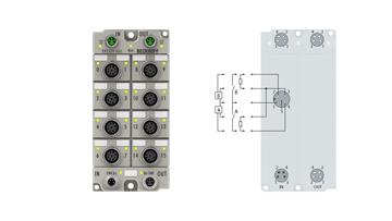ER2339-0022 | 16-Kanal-Digital-Ein- oder -Ausgang 24VDC, frei wählbar