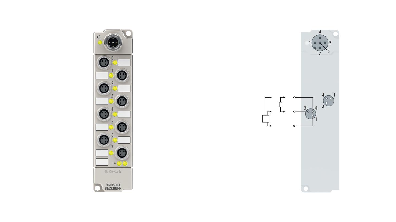ERI2008-0001, M8, screw type