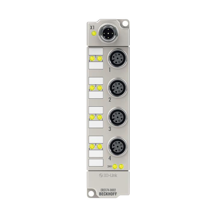 ERI3174-0002   4-Kanal-Analog-Eingang ±10 V oder 0/4…20 mA, parametrierbar, Differenzeingang, 16 Bit