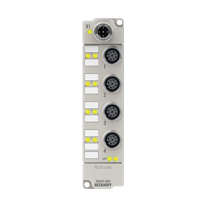 ERI4374-0002 | 2-Kanal-Analog-Eingang + 2-Kanal-Analog-Ausgang ±10 V oder 0/4…20 mA, parametrierbar, 16 Bit