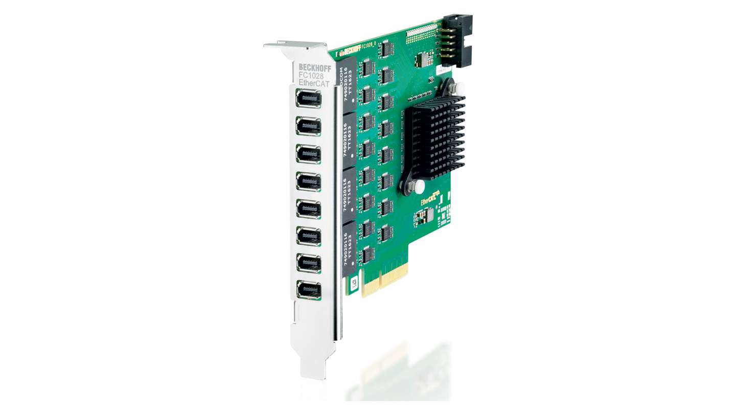 FC1028   PCIe EtherCAT master card