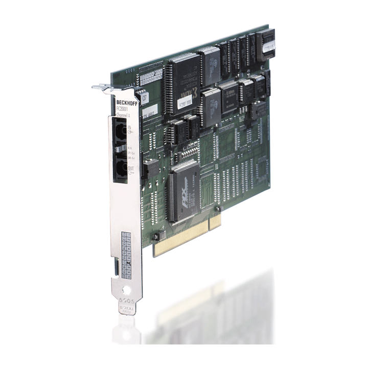 FC2001 | Infrastructure, 1-channel fieldbus card, Lightbus, master, PCI, LWL