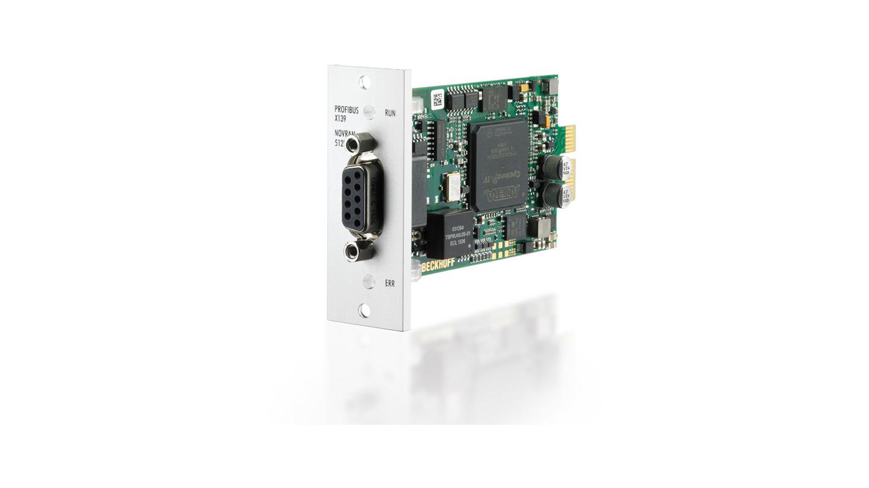 FC3161 | Infrastructure, 1-channel fieldbus card, PROFIBUS, master/slave, PCI express, NOVRAM, D-sub, Beckhoff PCIe module
