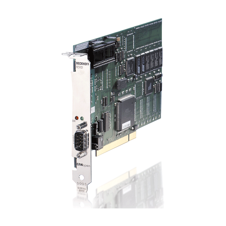 FC5101 | Infrastructure, 1-channel fieldbus card, CANopen, master/slave, PCI, D-sub
