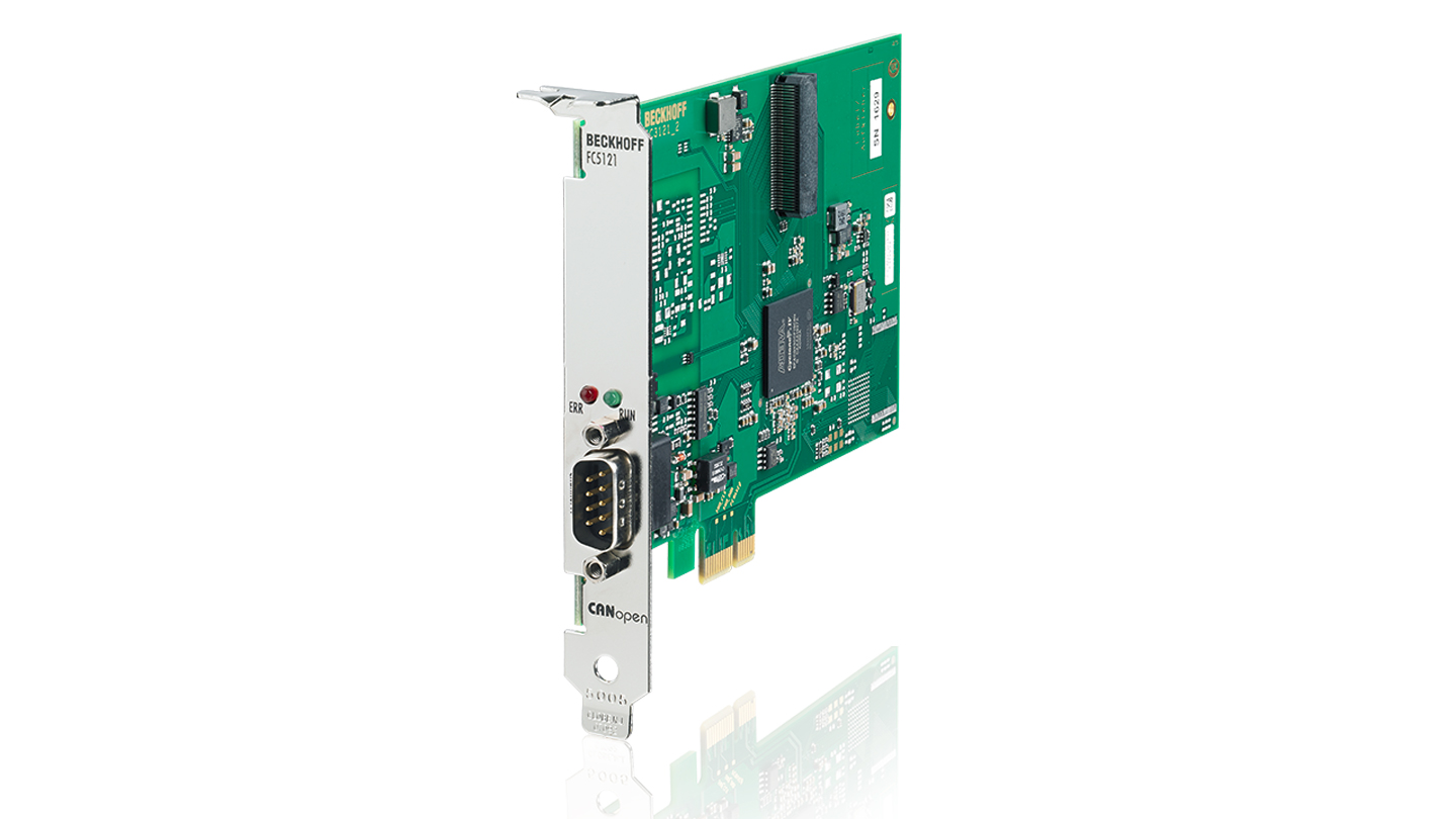 FC5121 | PCIe-CANopen