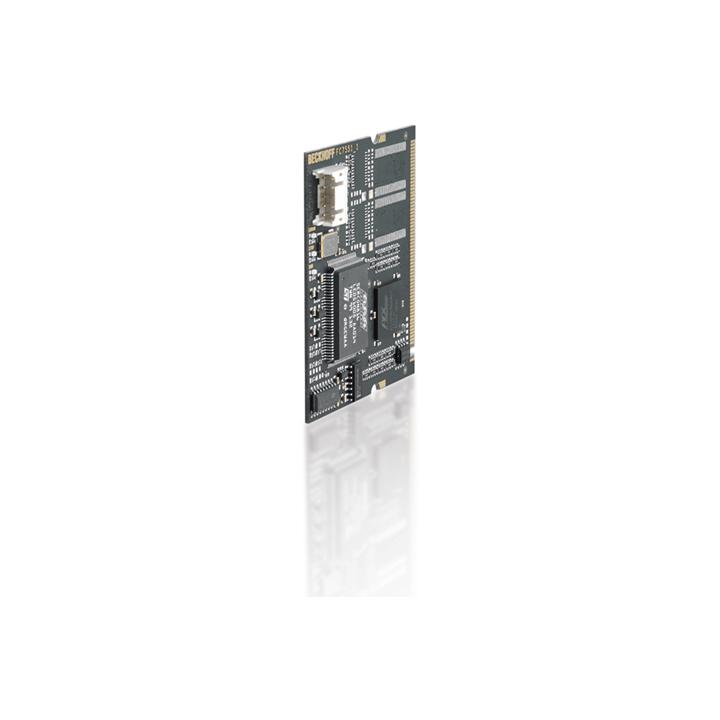 FC7551 | Infrastructure, 1-channel fieldbus card, SERCOSII, master, Mini PCI