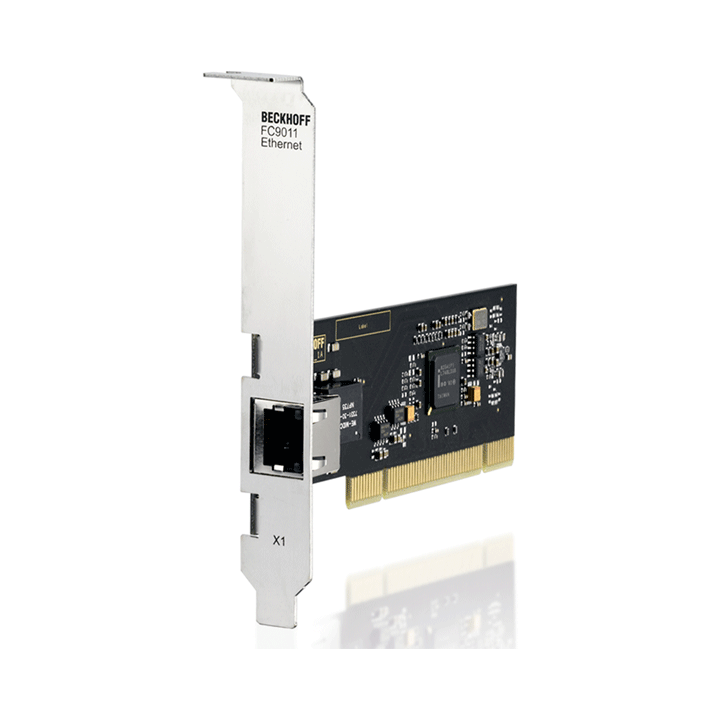 FC9011 | Infrastructure, 1-channel fieldbus card, Ethernet, 1Gbit/s, PCI, RJ45