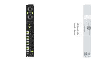 IL2302-B110 | Feldbus-Box-Module für EtherCAT