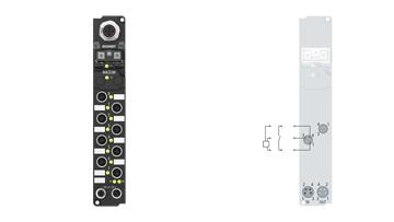 IP10x1-Bxxx, M8, schraubbar
