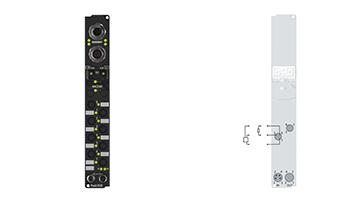 IP20x0-Bxxx, Ø8, schnappbar