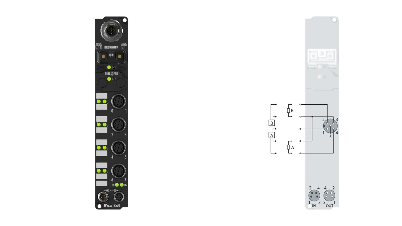 IP2002-B520 | Fieldbus Box modules for DeviceNet
