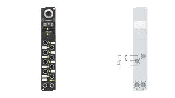 IP2041-Bxxx, M8, screw type