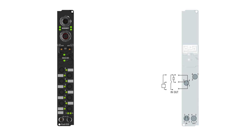 IP23x0-Bxxx, Ø8, schnappbar